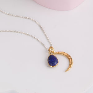 Moon And Gemstone Necklace - our top new picks