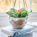 Granny's Ceramic Hanging Planter