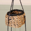 Country Style Set Of Three Hanging Storage Baskets