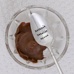 Personalised Vintage Silver Plated Dessert Spoon - spoons
