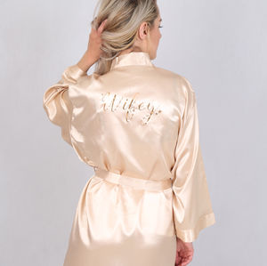 Wifey Star Dressing Gown Robe