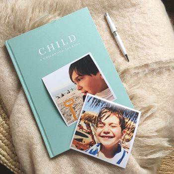Childhood Memory Journal And Record Book