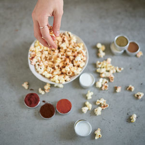 Make Your Own Personalised Popcorn Seasoning Kit - gifts for teenagers