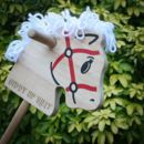 Personalised Wooden Hobby Horse