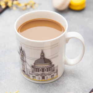 London Landmarks Bone China Mug