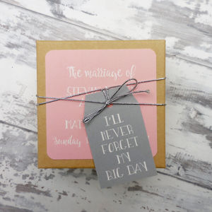 Bride To Be Gift Of Memories - hen party ideas
