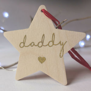 Personalised Christmas Decoration With Secret Message - baubles & hanging decorations