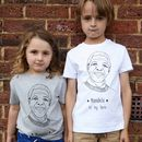 Nelson Mandela Kids T Shirt Organic Cotton
