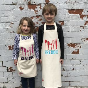 Personalised Children's Baking Apron - home sale