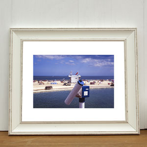 Look See, Gorleston On Sea, Norfolk Signed Art Print - shop by price
