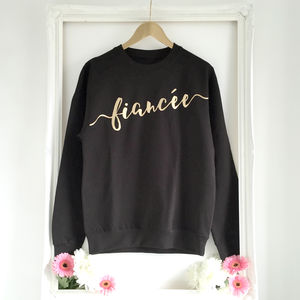 'Fiancee' Engagement Sweater