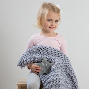Baby Blanket Beginners Knitting Kit - knitting kits