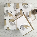 Wedding Wrapping Paper Cat Wrapping Paper