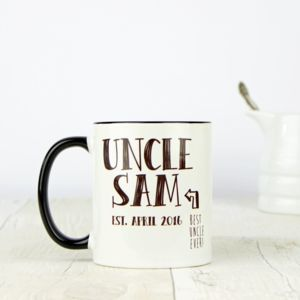 Personalised Uncle Mug - mugs