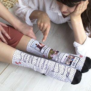 Personalised Best Friend Photo Socks