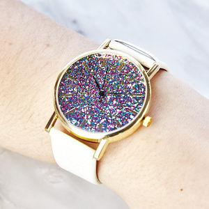 Glitter Watch - 21st birthday gifts