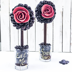 Personalised Valentines Minstrel® Rose Tree - food gifts