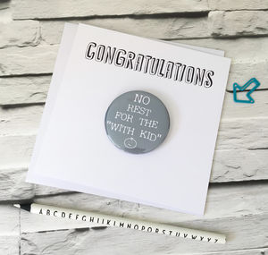 New Parents Card|No Rest For The 'With Kid' - new baby cards