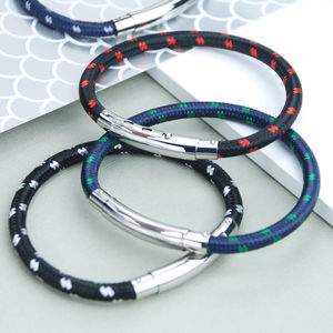 Men's Classic Sailing Cord Bracelet - jewellery sale