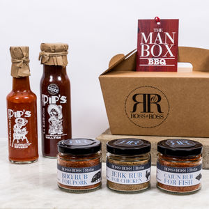 The Spicy Bbq Man Box - food & drink