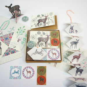 Deer Box - writing paper & sets