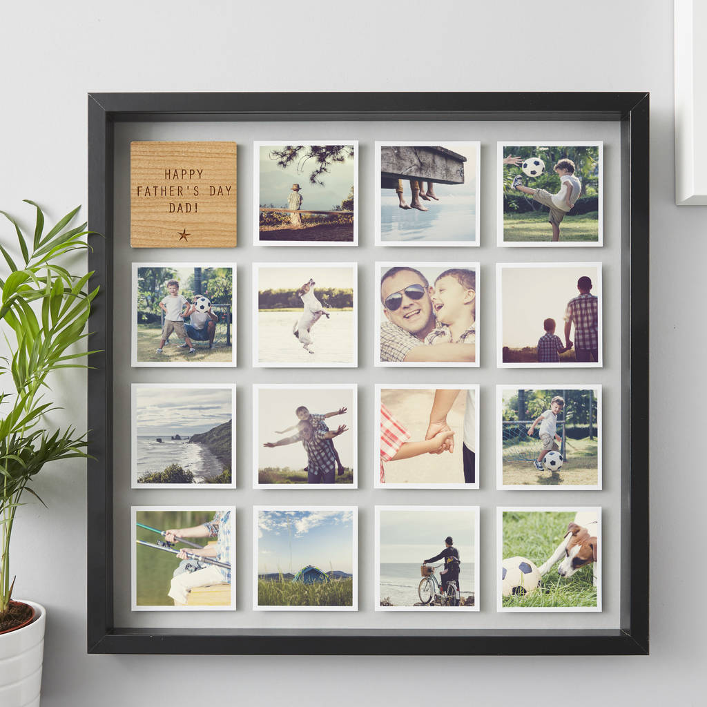 Photo and picture frames notonthehighstreet personalised framed photo print for him picture frames jeuxipadfo Gallery