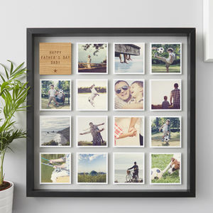 Personalised Framed Photo Print For Him - picture frames