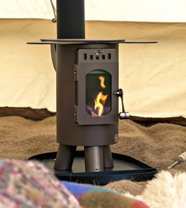 'The Traveller' Glamping Wood Stove - fire pits & outdoor heating