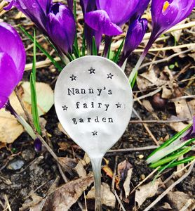 Personalised Vintage Plant Marker - gifts for her