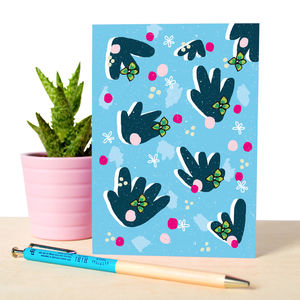 Notebook With Fun Floral Pattern - stationery