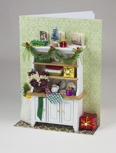 Kitchen Dresser Deluxe Christmas Card