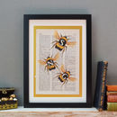 Bee Three Letter Print