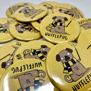 Hufflepug Badge