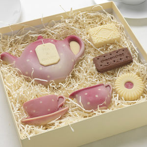 Chocolate Tea And Biscuits - gifts for grandparents