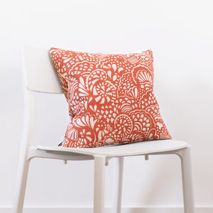 Seaside Swirl Cushion - what's new