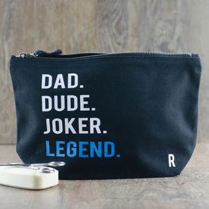 Personalised Legend Washbag