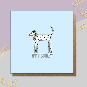 Birthday Dalmatian - birthday cards