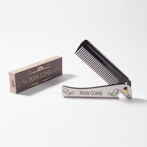 Limited Edition Man Comb 'Black' - more