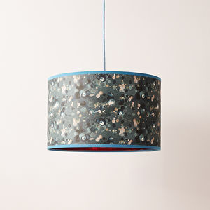 Copper Pattern Lampshade - lighting
