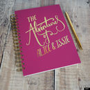 'The Adventures Of' Personalised Memory Book
