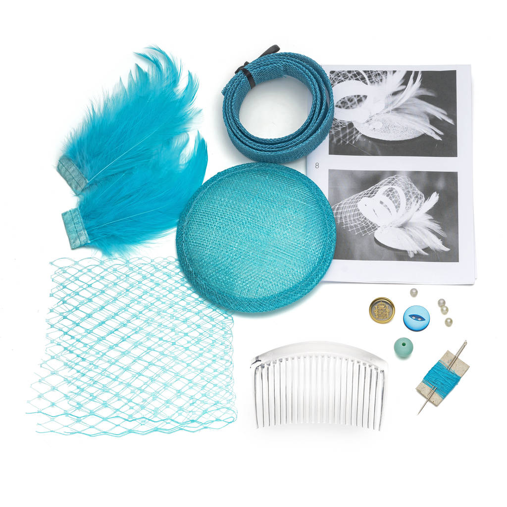 Diy Vintage Fascinator Making Kit