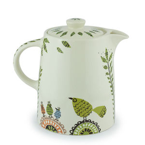 Birdlife Teapot - tea & coffee cosies