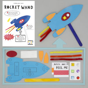 Make Your Own Rocket Wand Kit - gifts for babies & children