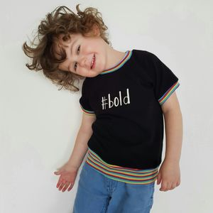 Unisex #Bold Statement T Shirt - gifts for children