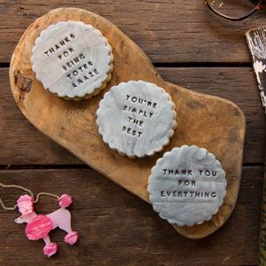 The Thanks So Much Biscuit Gift Box - cakes & sweet treats
