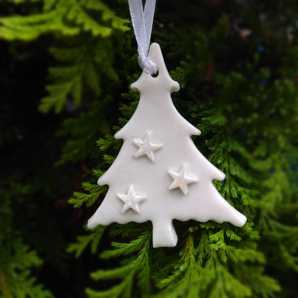 Ceramic Christmas Tree Decorations.Christmas Tree Decorations