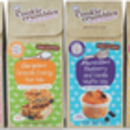 Selection Of Four Healthy Baking Mixes