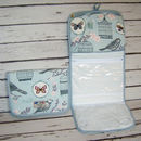 Birdcage Bird Butterfly Hanging Toiletry Wash Bag