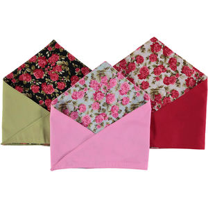 Summer Rose Dog Bandana - pet clothes & accessories