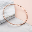 9ct rose gold plate with clear finish